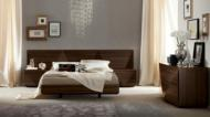 Modern Furniture Brands, Rossetto, SAPPHIRE DARK WALNUT BED