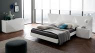 Modern Furniture Brands, Rossetto, SAPPHIRE WHITE BED